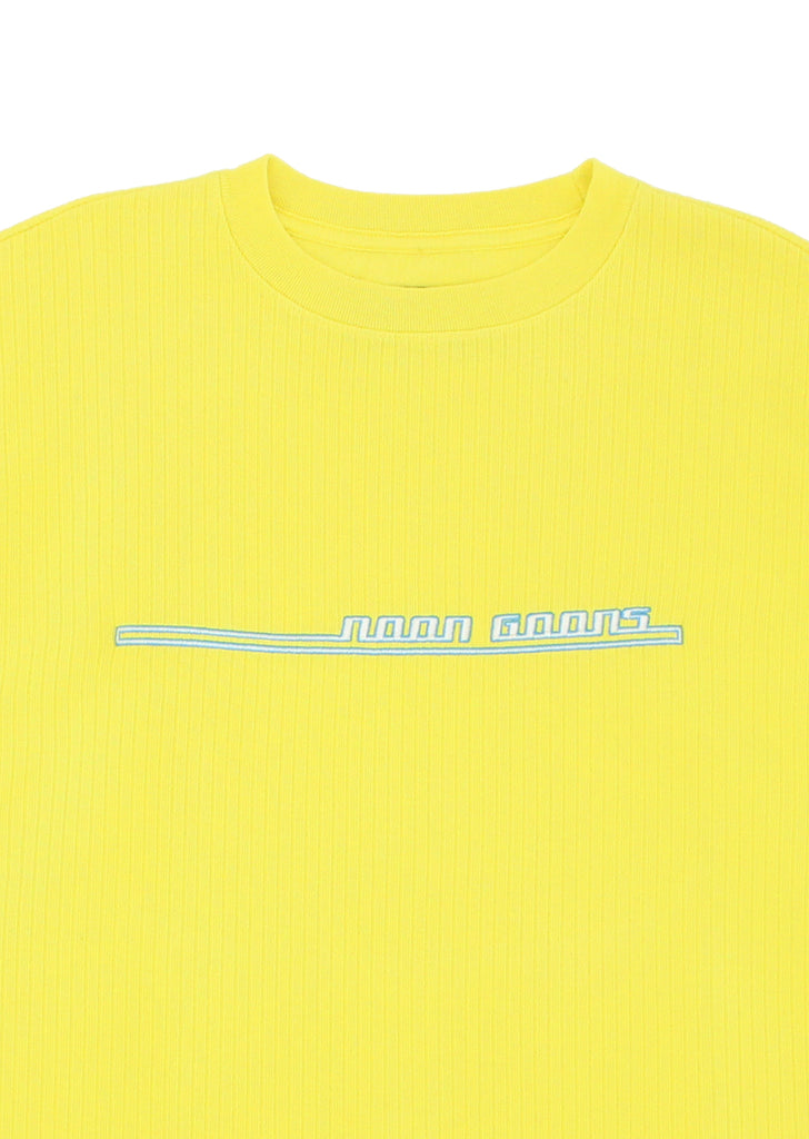 Jetties Longsleeve T - Neon Yellow
