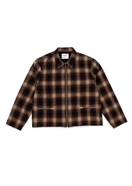 Anderson Flannel Jacket - Brown