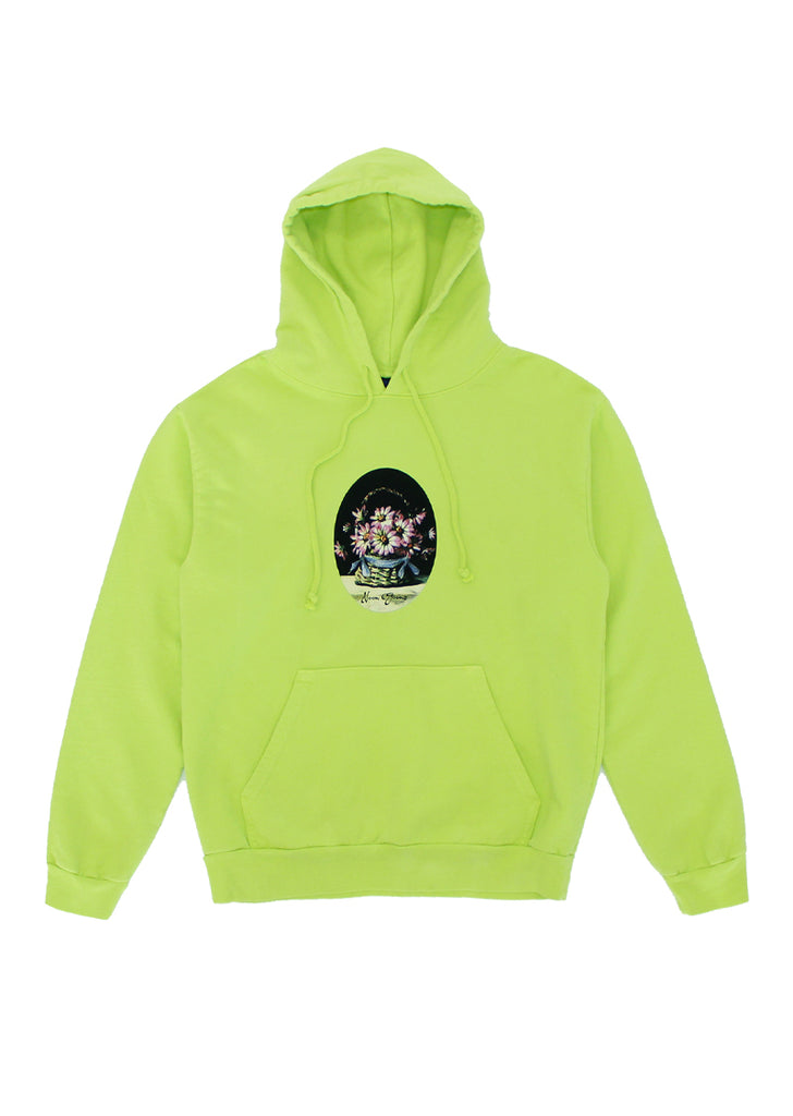 Greetings Hoodie - Bright Green