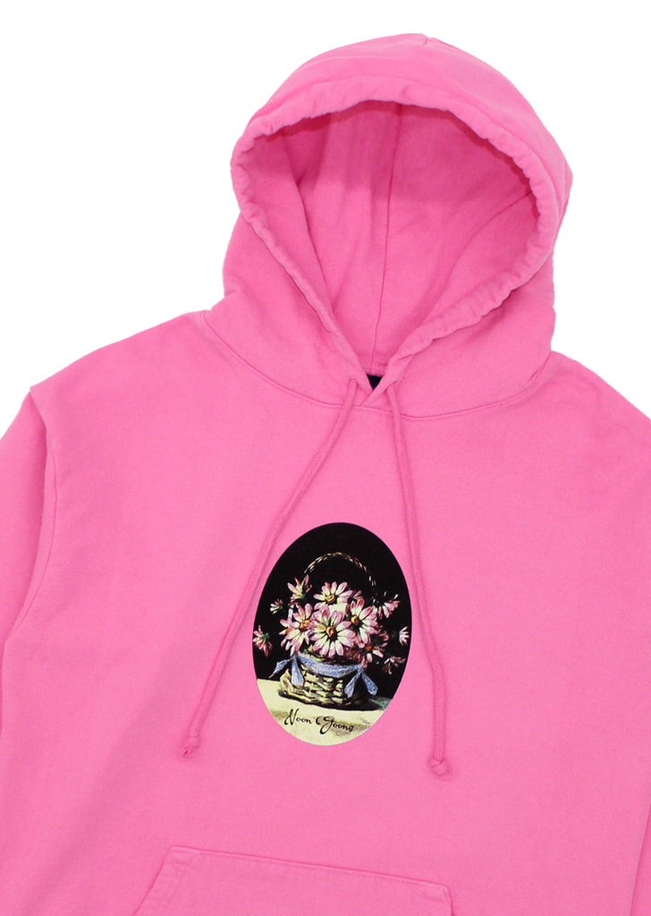 Greetings Hoodie - Bright Pink