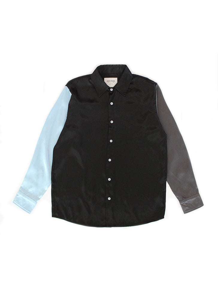 The Downtown Shirt - Black/Blue/Grey