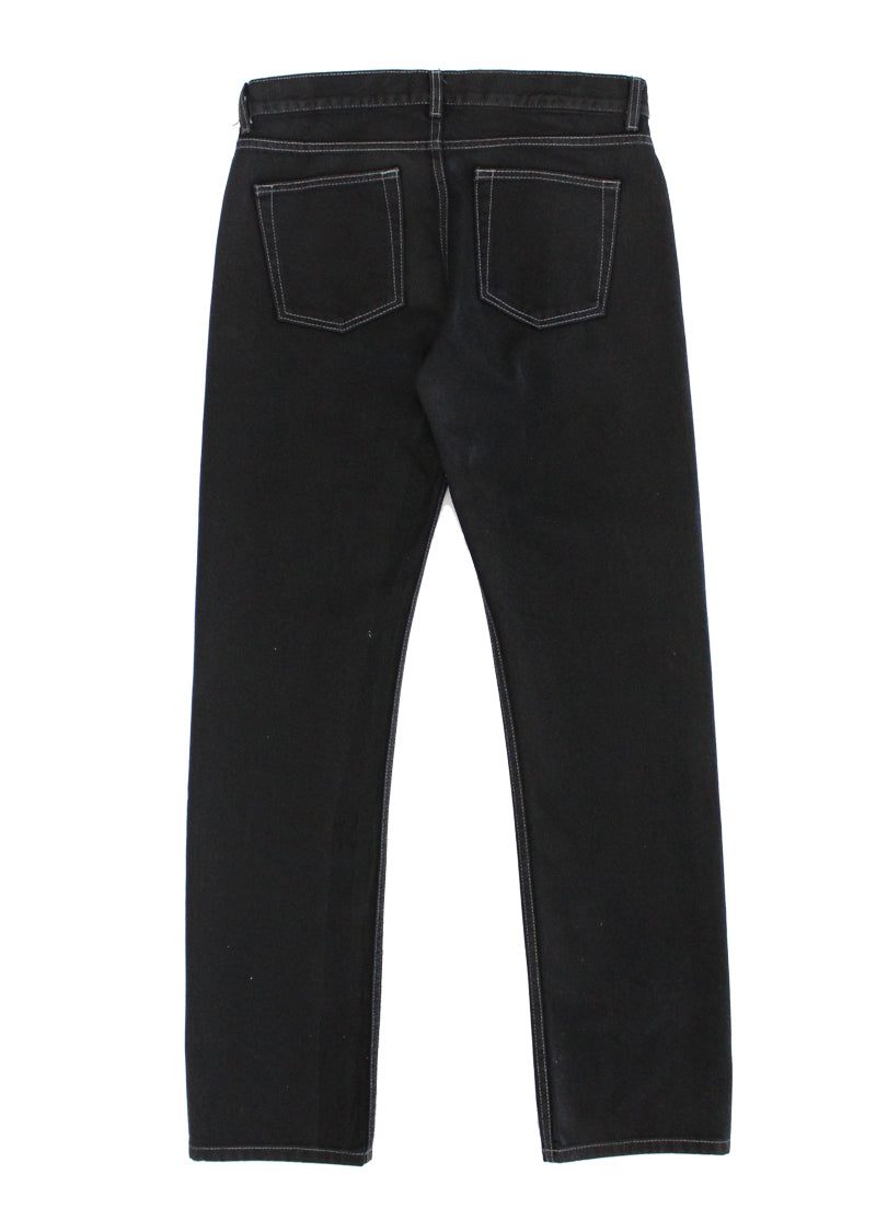 Zeros Wax Denim Pant - Black