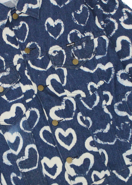Hearts Denim Jacket