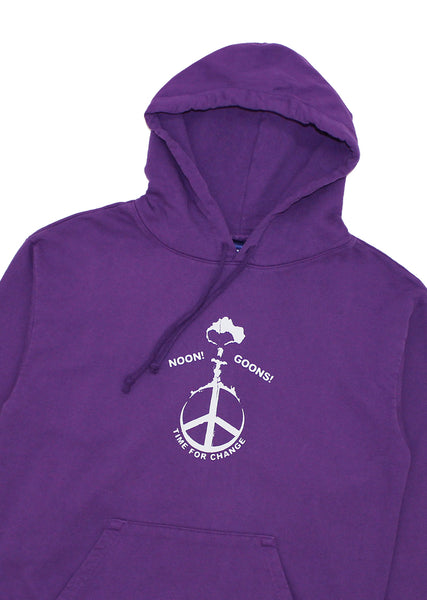 Time For Change Hoodie - Purple