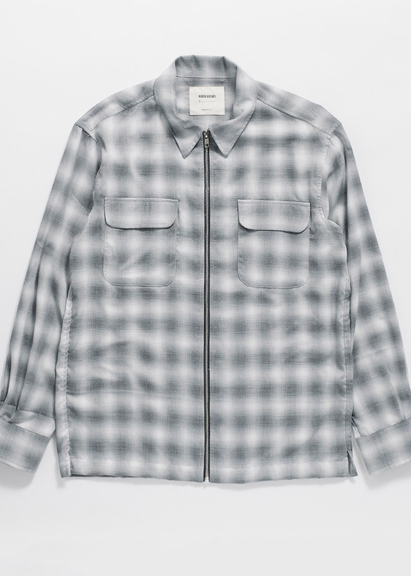 ZIPPED FLANNEL