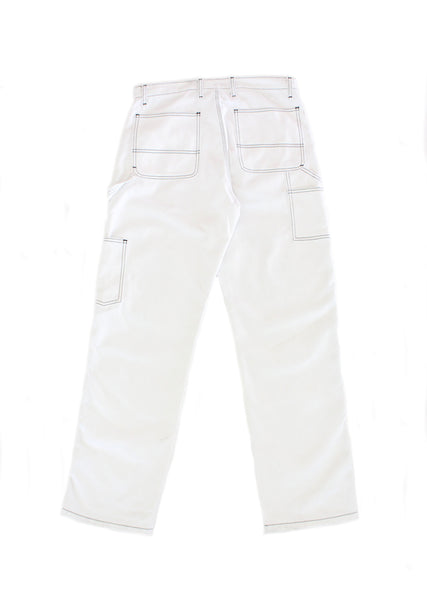 Throttle Pant - White