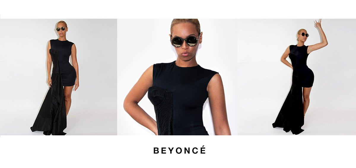 Beyonce wearing Preen by Thornton Bregazzi