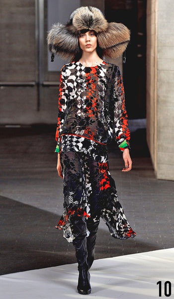 Preen By Thornton Bregazzi Autumn Winter 2014 Look 10