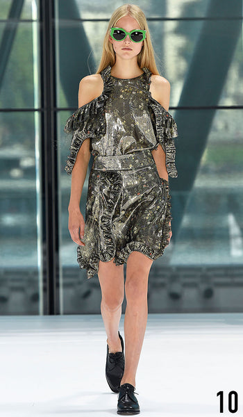 Preen By Thornton Bregazzi Spring Summer 2016 Look 10