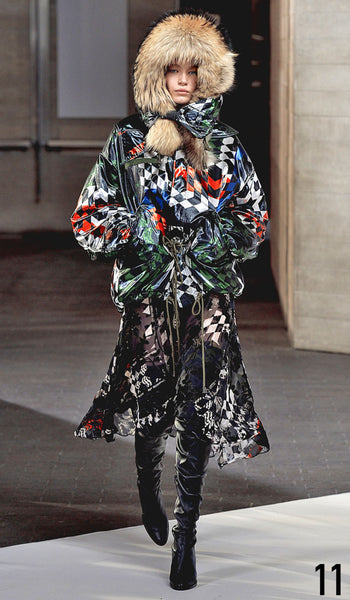 Preen By Thornton Bregazzi Autumn Winter 2014 Look 11