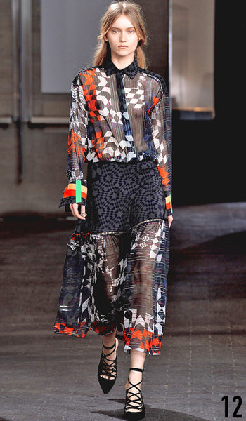 Preen By Thornton Bregazzi Autumn Winter 2014 Look 12