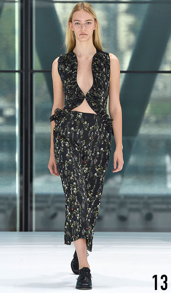 Preen By Thornton Bregazzi Spring Summer 2016 Look 13