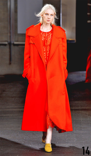 Preen By Thornton Bregazzi Autumn Winter 2014 Look 14