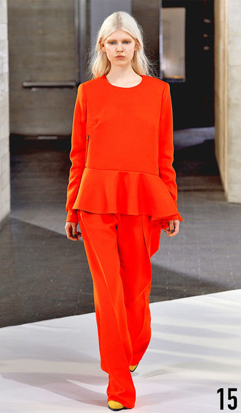 Preen By Thornton Bregazzi Autumn Winter 2014 Look 15