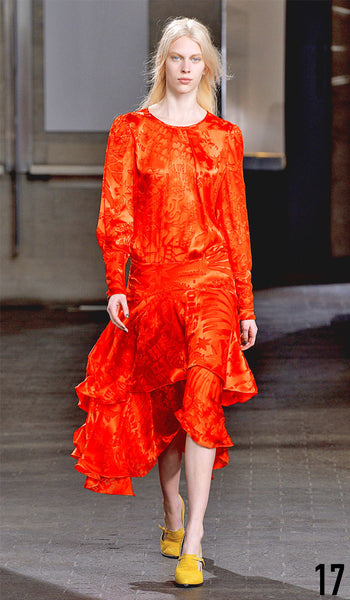 Preen By Thornton Bregazzi Autumn Winter 2014 Look 17