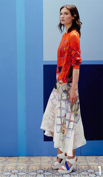 Preen By Thornton Bregazzi Resort 2015 Look 1