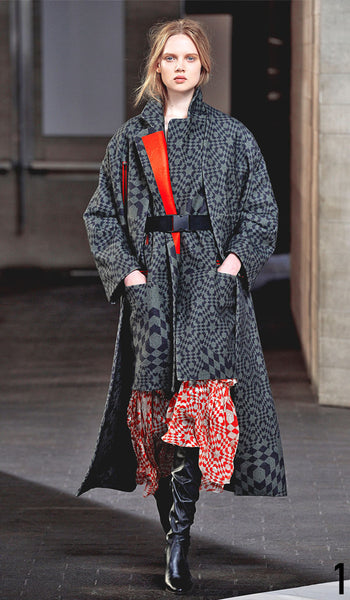 Preen By Thornton Bregazzi Autumn Winter 2014 Look 1