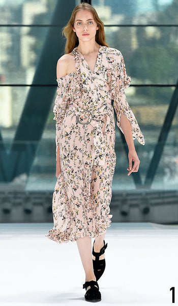 Preen By Thornton Bregazzi Spring Summer 2016 Look 1