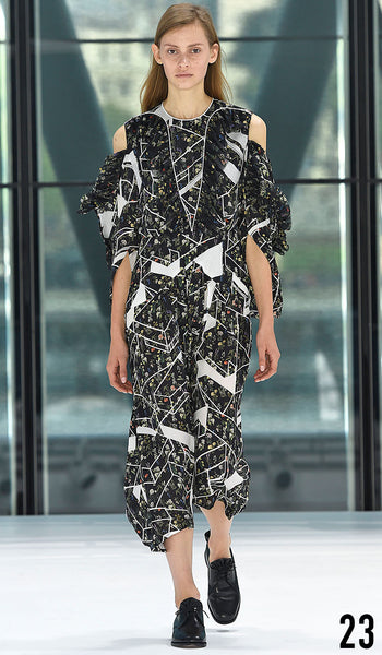 Preen By Thornton Bregazzi Spring Summer 2016 Look 23