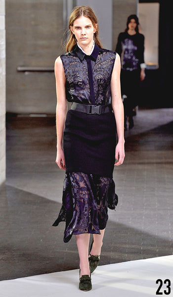 Preen By Thornton Bregazzi Autumn Winter 2014 Look 23