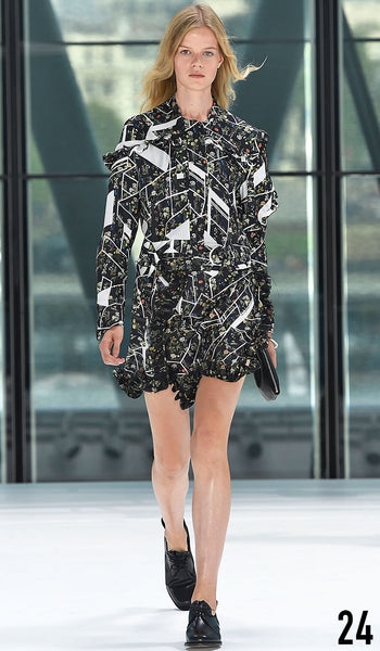 Preen By Thornton Bregazzi Spring Summer 2016 Look 24