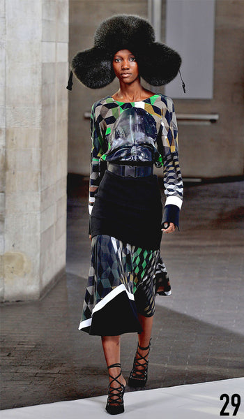 Preen By Thornton Bregazzi Autumn Winter 2014 Look 29