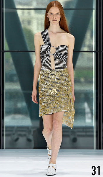 Preen By Thornton Bregazzi Spring Summer 2016 Look 31