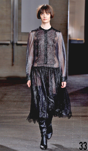 Preen By Thornton Bregazzi Autumn Winter 2014 Look 33