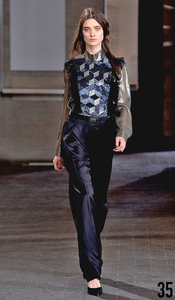 Preen By Thornton Bregazzi Autumn Winter 2014 Look 35