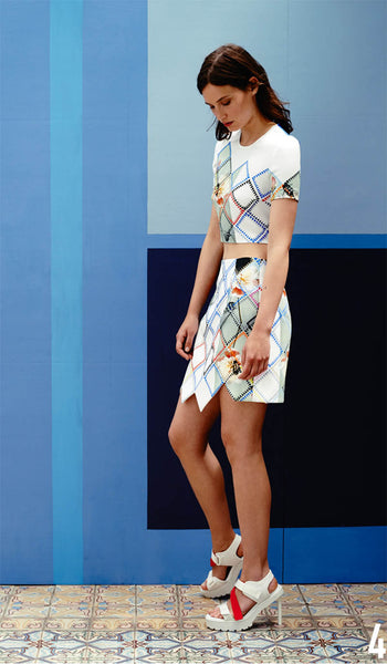 Preen By Thornton Bregazzi Resort 2015 Look 4