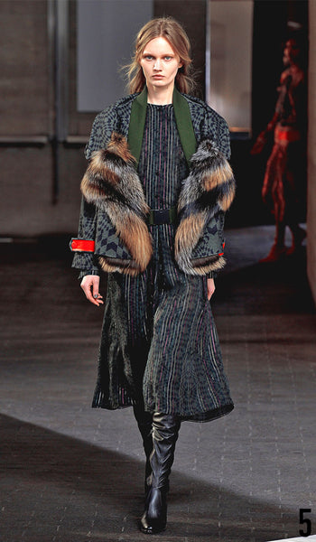Preen By Thornton Bregazzi Autumn Winter 2014 Look 5