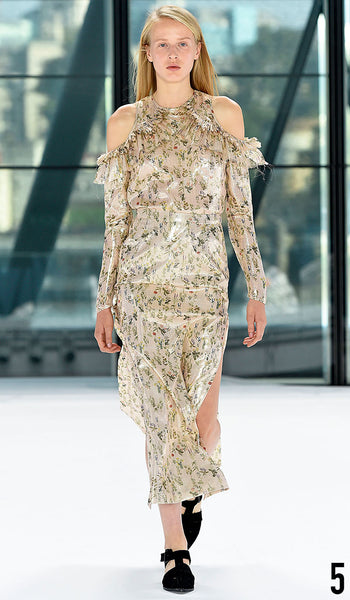 Preen By Thornton Bregazzi Spring Summer 2016 Look 5