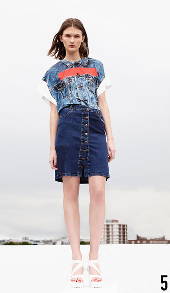 Preen Line Resort 2015 Look 5