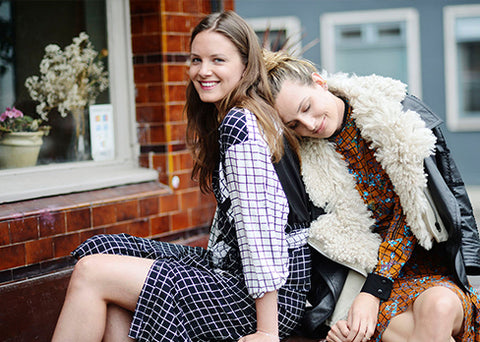 Preen Line Diaries muses Tansy Aspinall and Victoria Van Holthe