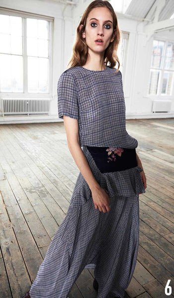 PREEN LINE PRE FALL 19 LOOK 6 Naomi Top and Jolissa Skirt.