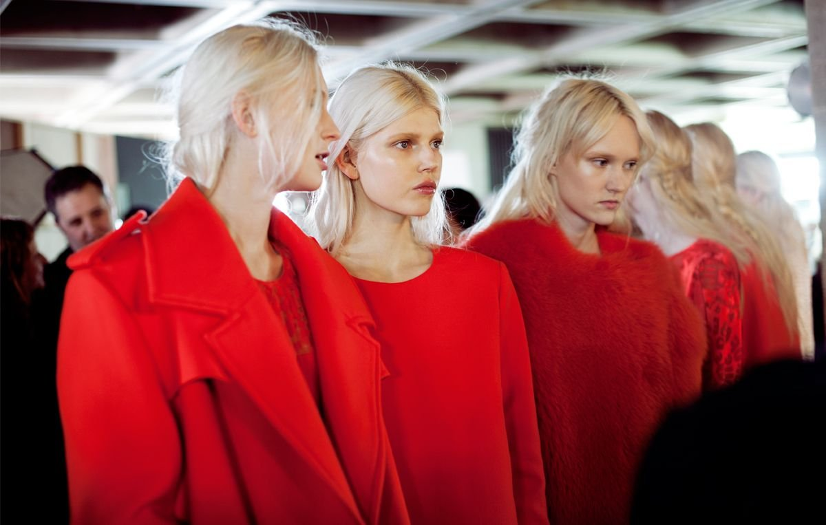 Preen AW14 Backstage