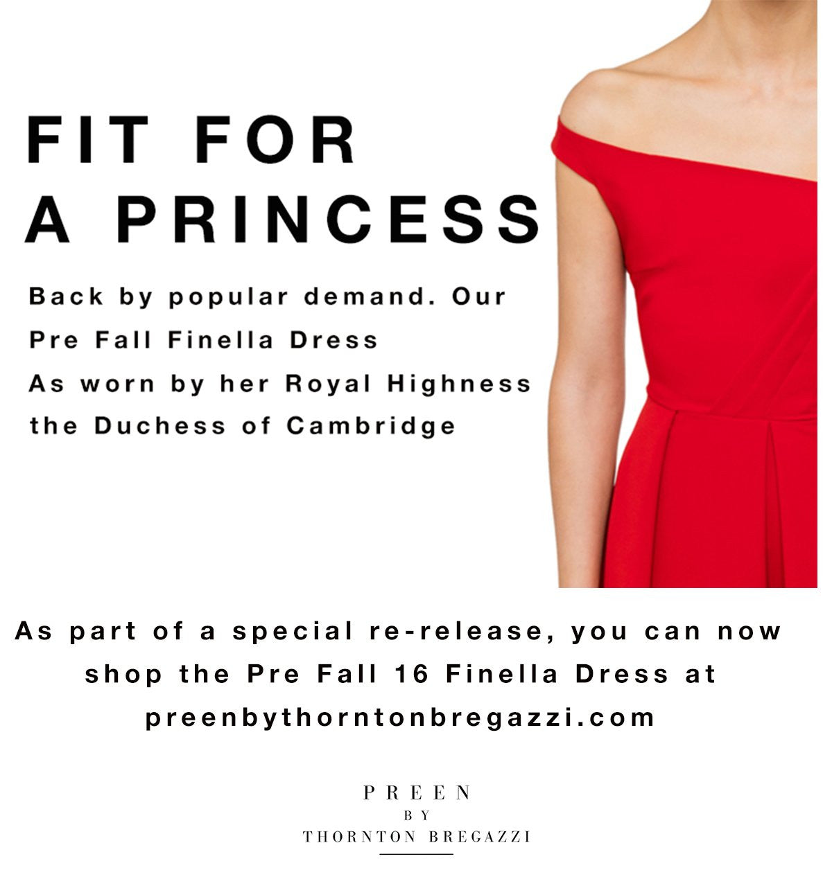 Fit for a princess - the Finella dress worn by Kate Middleton