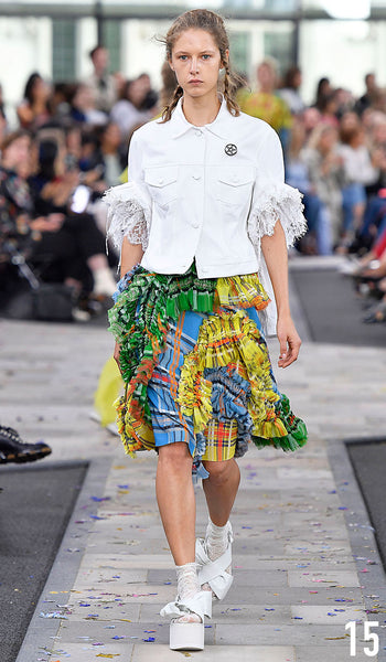 Preen By Thornton Bregazzi Spring Summer 2017 Look 15