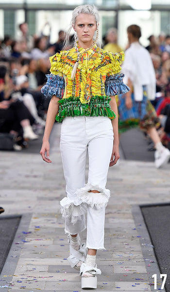 Preen By Thornton Bregazzi Spring Summer 2017 Look 17