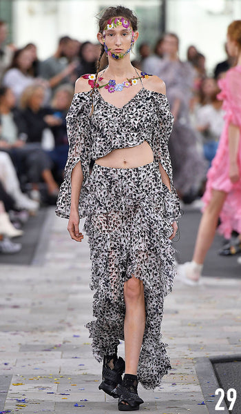 Preen By Thornton Bregazzi Spring Summer 2017 Look 29