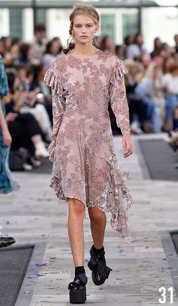 Preen By Thornton Bregazzi Spring Summer 2017 Look 31