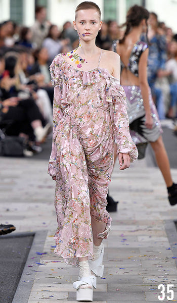 Preen By Thornton Bregazzi Spring Summer 2017 Look 35