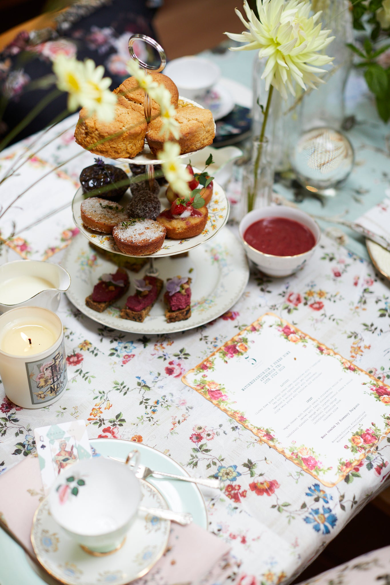 PREEN AND MATCHES FASHION AFTERNOON TEA