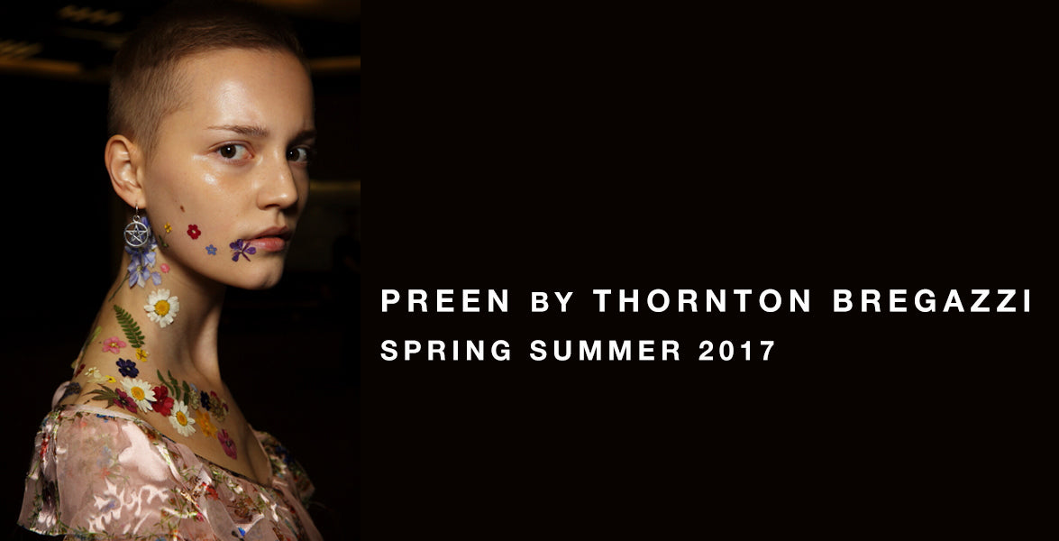 Preen By Thornton Bregazzi Spring Summer 2017