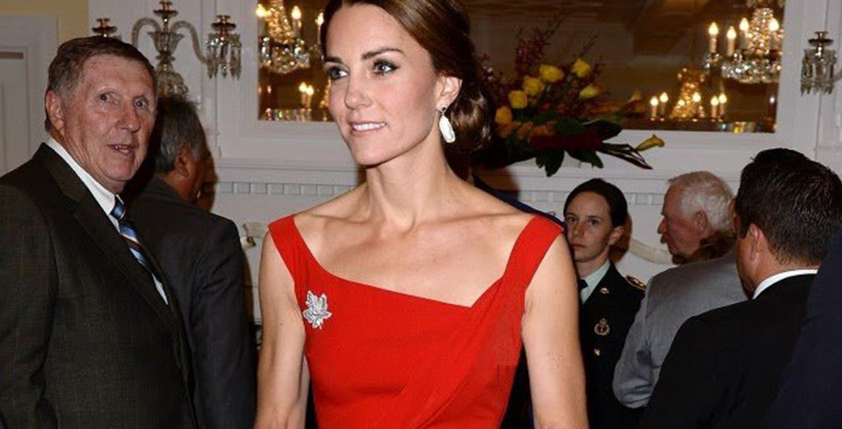 Kate Middleton wearing Preen