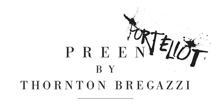 PREEN BY THORNTON BREGAZZI X PORT ELIOT