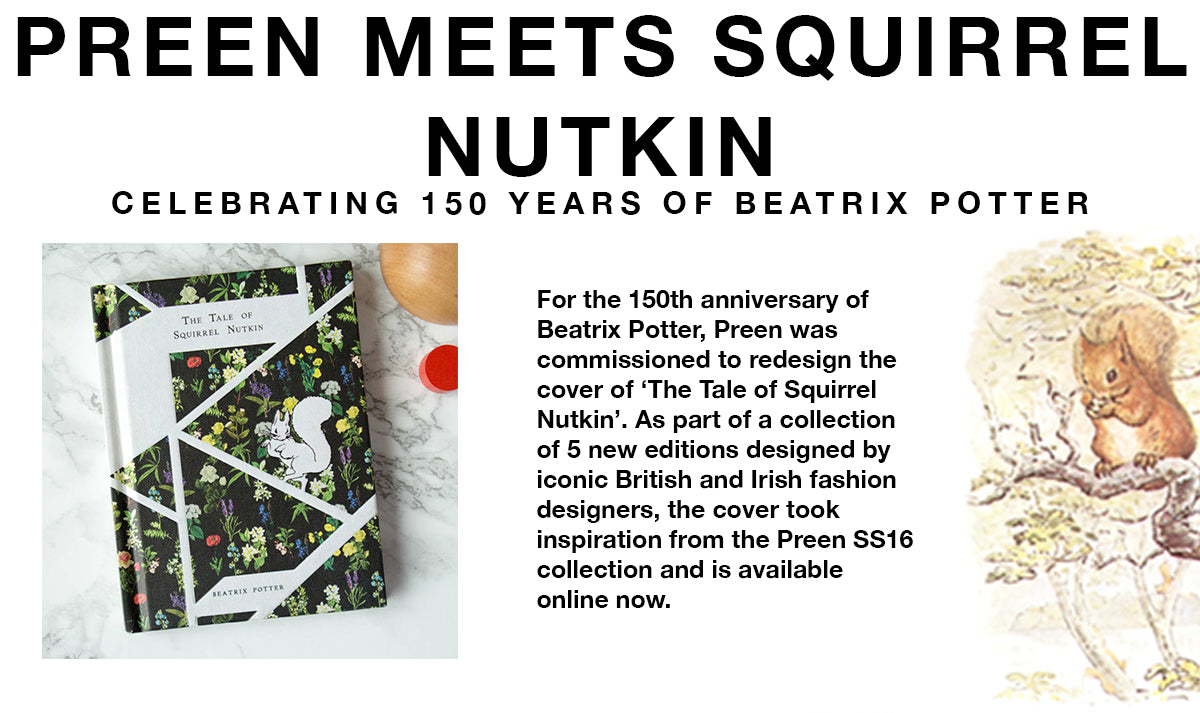 Preen celebrates 150 years of Beatrix Potter