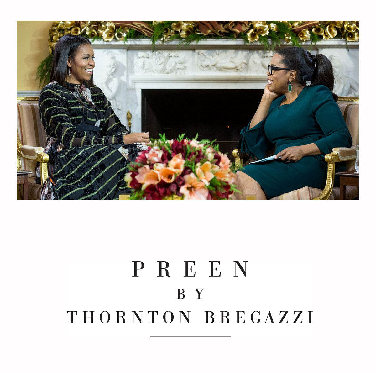 Michelle Obama in Preen by Thornton Bregazzi