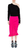 RE17 TIA SKIRT HOT PINK