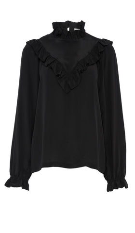 PF17 DALE BLOUSE BLACK